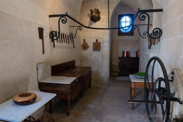 Castillo De Chenonceau Valle Del Loira Cocina Ganchos