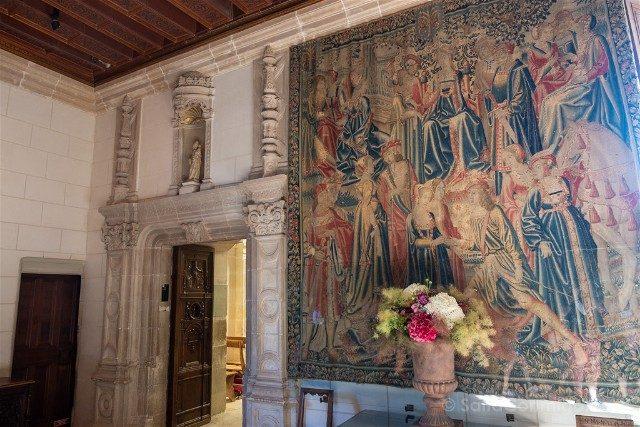 Castillo De Chenonceau Valle Del Loira Sala Guardia
