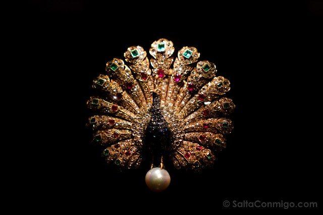Diamantes En Amberes Museo DIVA Joya Pavo Real