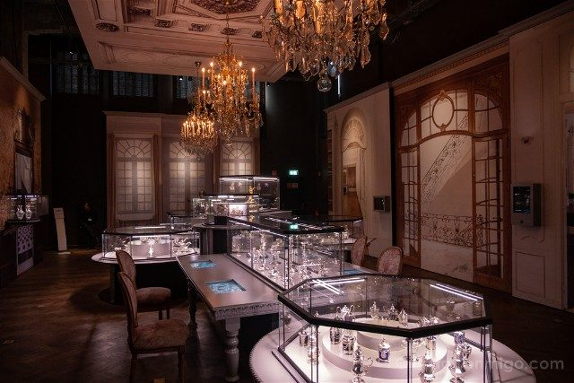Diamantes En Amberes Museo DIVA Sala Mesas