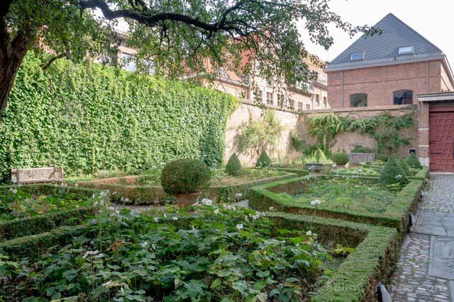 Flandes Malinas Manufactura Real De Wit Jardin