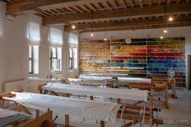 Flandes Malinas Manufactura Real De Wit Museo Sala Conservacion