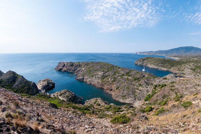 Girona Cap de Creus Cala Faro Vista