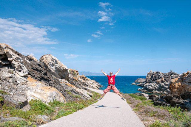 Girona Cap de Creus Cala Paratge Tudela Salto