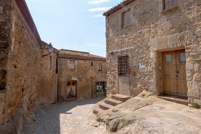 Peratallada Girona Carrer Roca
