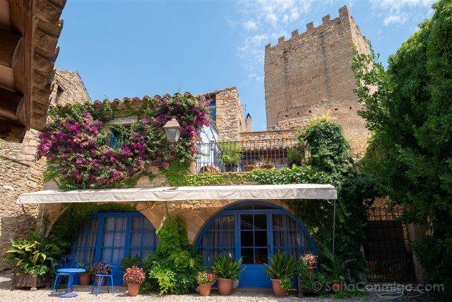 Peratallada Girona Casco Antiguo Arcos