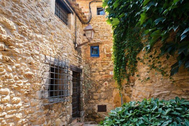 Peratallada Girona Casco Antiguo