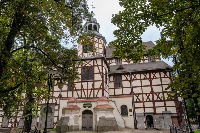 Polonia Baja Silesia Iglesia Paz Jawor Exterior