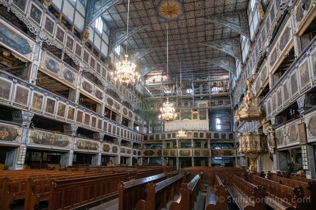 Polonia Baja Silesia Iglesia Paz Jawor Organo