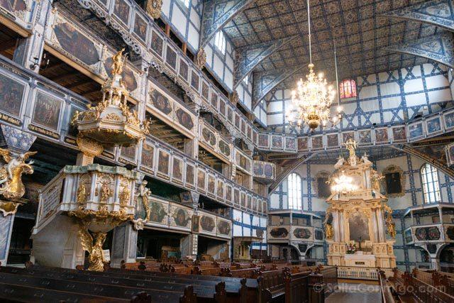 Polonia Baja Silesia Iglesia Paz Jawor Pulpito
