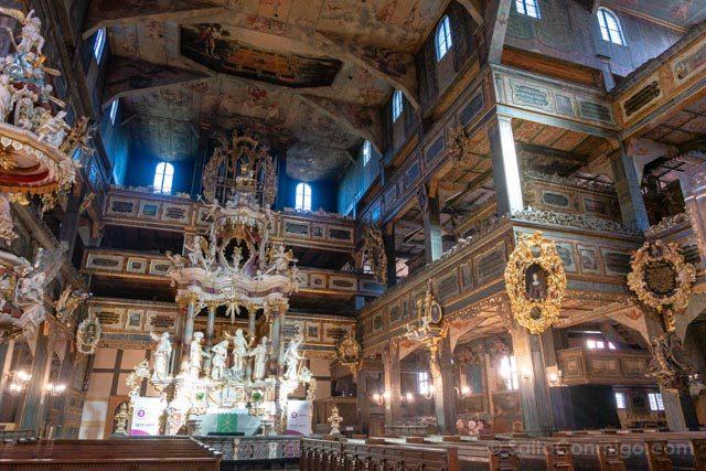 Polonia Baja Silesia Iglesia Paz Swidnica Interior Altar