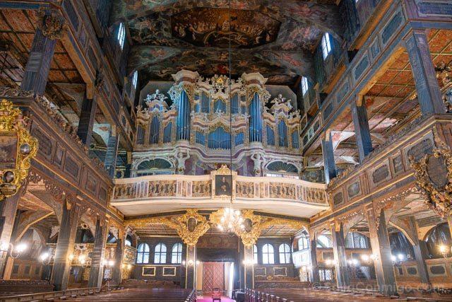 Polonia Baja Silesia Iglesia Paz Swidnica Interior Organo