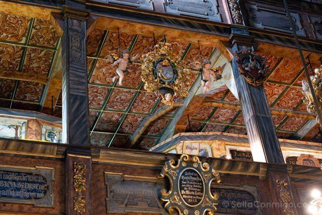 Polonia Baja Silesia Iglesia Paz Swidnica Querubines