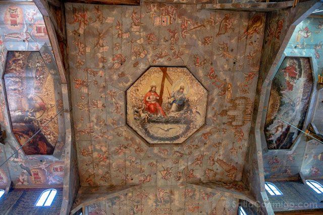 Polonia Baja Silesia Iglesia Paz Swidnica Techo