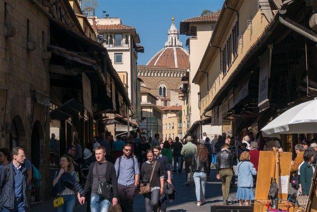 Puente Viejo Florencia Curiosidades Gente