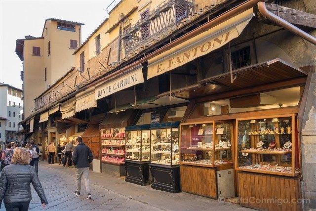 Puente Viejo Florencia Curiosidades Joyerias
