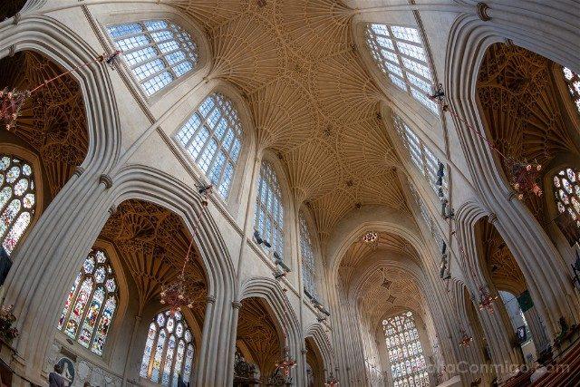 Que Ver En Bath Abadia Interior Techo