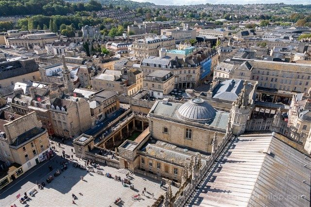 Que Ver En Bath Abadia Torre Vista