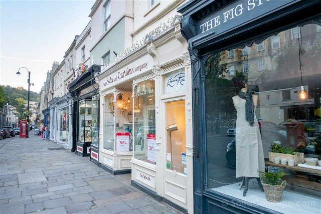 Que Ver En Bath Tiendas Walcot Street