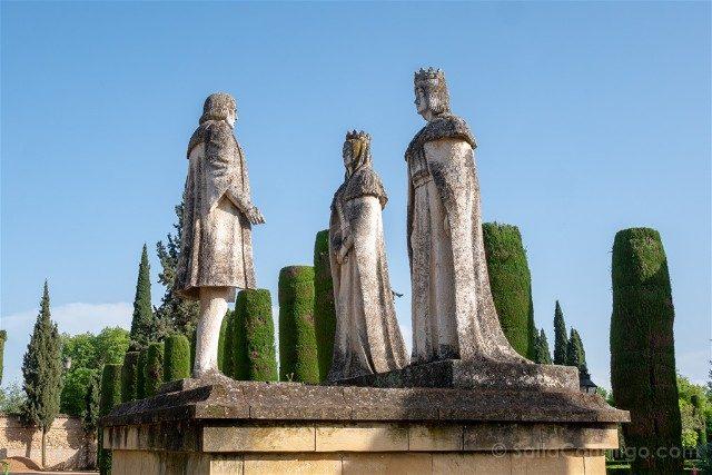 Que Ver En Cordoba Alcazar Reyes Cristianos Colon Catolicos