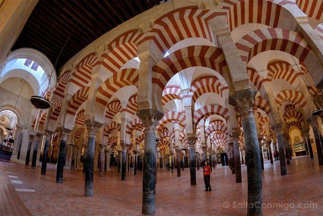 Que Ver En Cordoba Arcos Mezquita Catedral