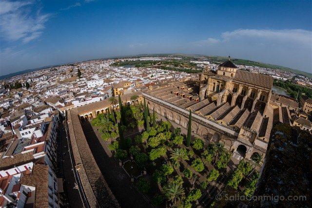 Que Ver En Cordoba Vista Torre Mezquita