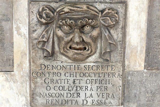 Que Ver En Venecia Buzon Palacio Ducal