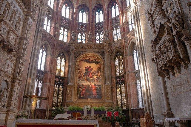 Que Ver En Venecia Santa Maria Gloriosa dei Frari Virgen Tiziano