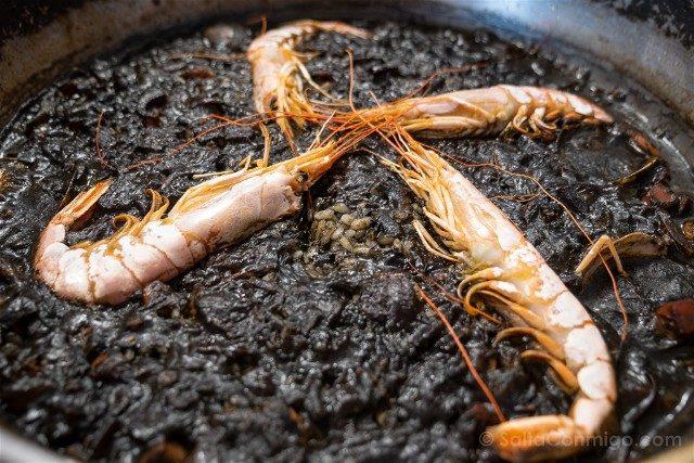 Restaurantes En Cap De Creus Cadaques Can Rafa Arroz Negro