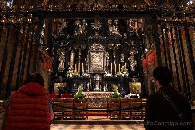 Santuario Czestochowa Jasna Gora Polonia Capilla Cuadro Milagroso Cerrado