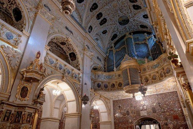Santuario Czestochowa Jasna Gora Polonia Capilla Organo