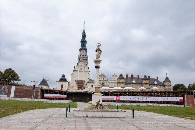 Santuario Czestochowa Jasna Gora Polonia Llegada