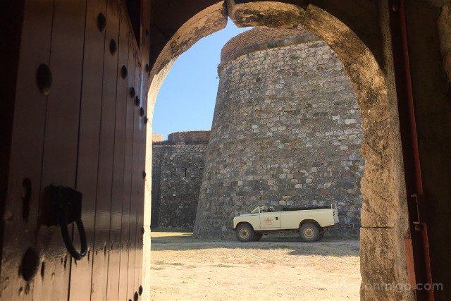 Castillo de San Fernando Figueres Contraminas 4x4