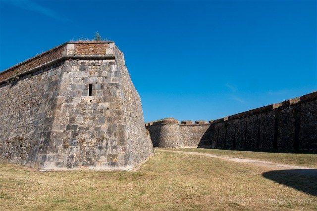 Castillo de San Fernando Figueres Foso