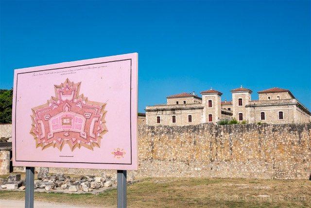 Castillo de San Fernando Figueres Plano
