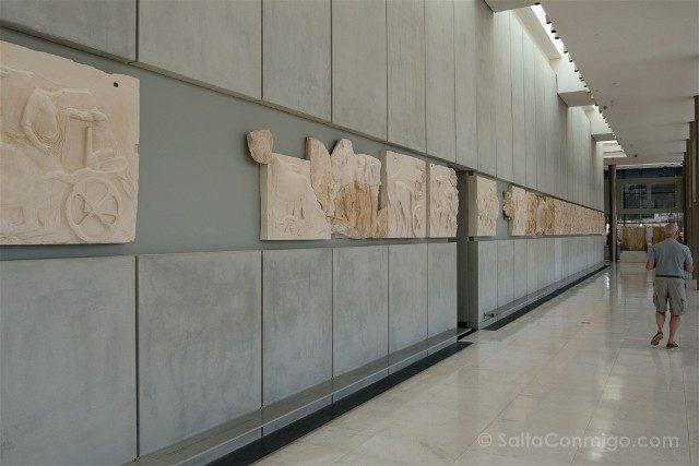 Museo de la Acropolis de Atenas Frisos Partenon