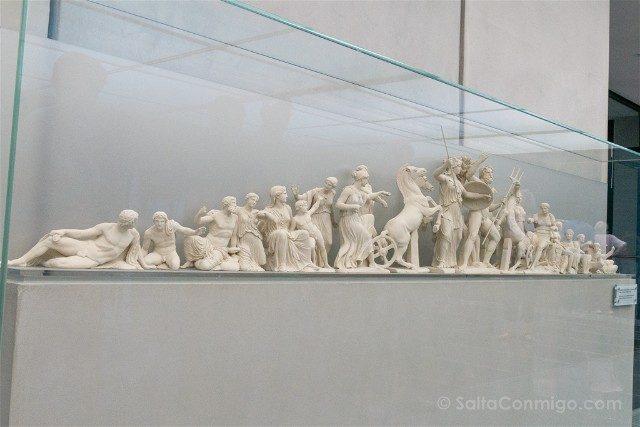 Museo de la Acropolis de Atenas Fronton Oeste Partenon