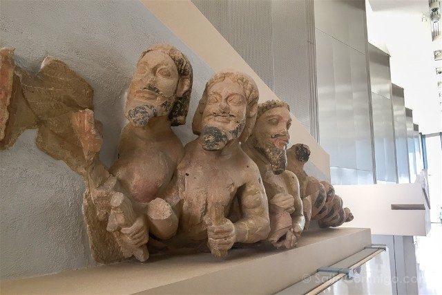 Museo de la Acropolis de Atenas Primera Planta