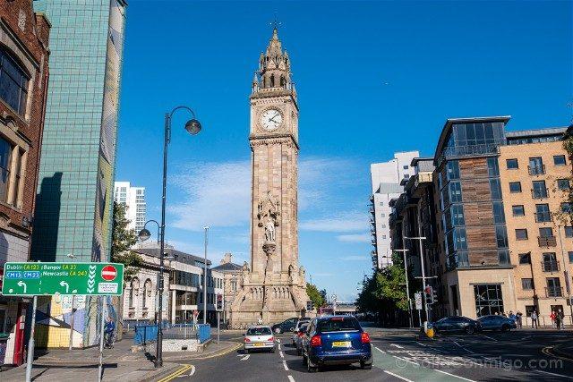 Que Ver En Belfast Albert Memorial Clock