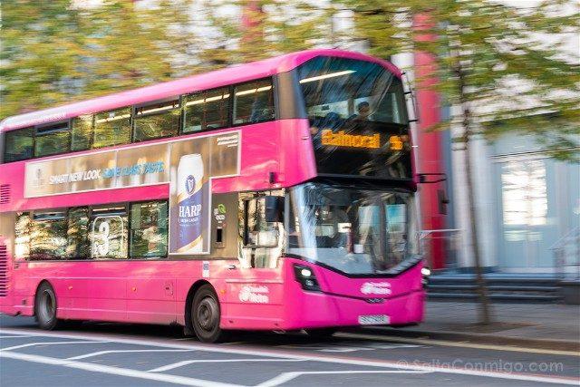 Que ver en Belfast Autobus