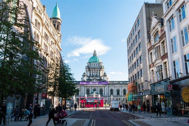 Que ver en Belfast Centro Ayuntamiento