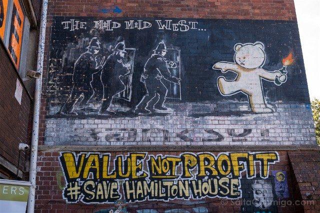 Que ver en Bristol Banksy The Mild Mild West