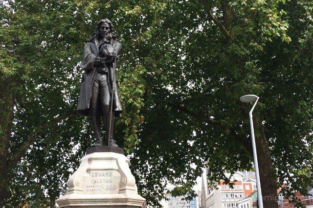 Que ver en Bristol Estatua Edward Colston