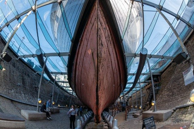Que ver en Bristol SS Great Britain Casco Ojo Pez