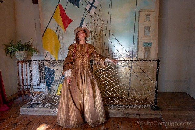 Que ver en Bristol SS Great Britain Disfraz Sara