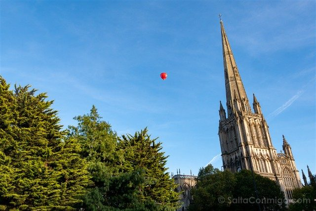 Que ver en Bristol St Mary Redcliffe Aguja Globo