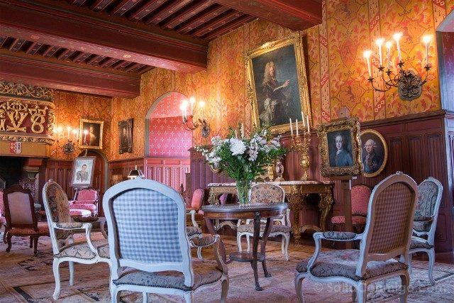 Que ver en Josselin Bretana Castillo Gran Salon