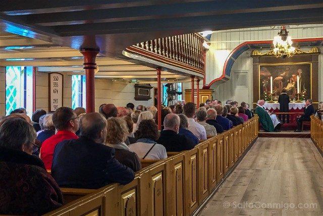 Torshavn Islas Feroe Catedral Interior