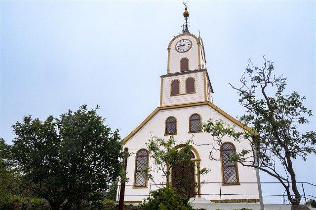 Torshavn Islas Feroe Catedral