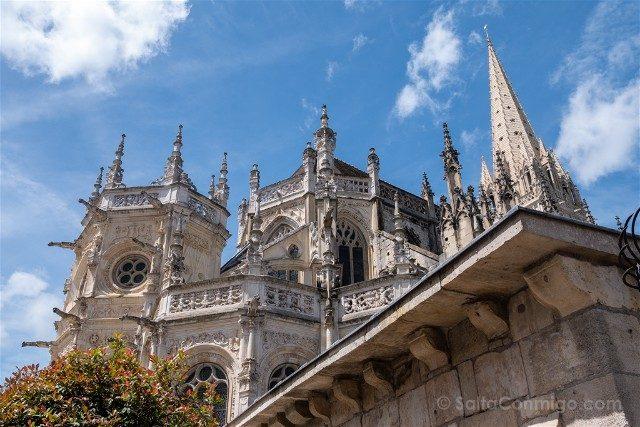 Que ver en Caen Iglesia Saint-Pierre Abside